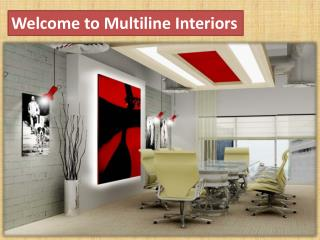 Welcome to Multiline Interiors