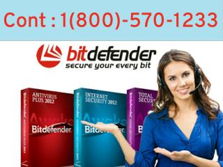 Bitdefender Antivirus  1(800)-570-1233 Tech Support number