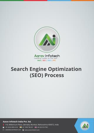 Search Engine Optimization(SEO) Process