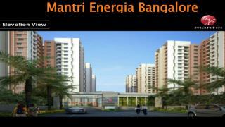 Mantri Energia Bangalore