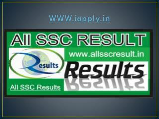 SSC recruitment 2016
