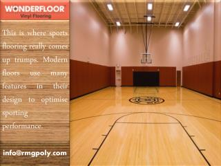 Make The Perfect Option for Sports Flooring