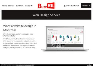Want a website design in Montreal?
