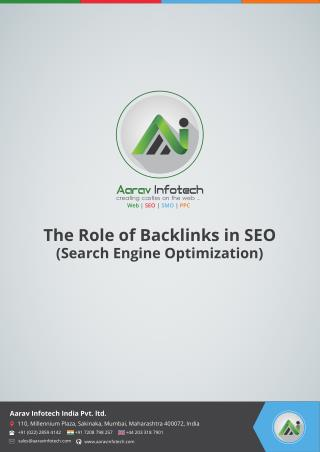 The Role of Backlinks in SEO