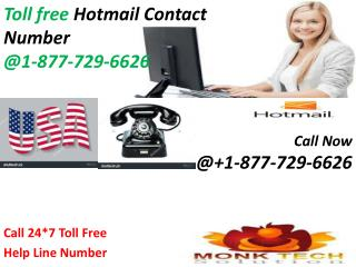 For Free all services Consult Hotmail Customer Care | Dial 1-877-729-6626 free