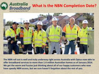 Understanding the NBN_Australia Broadband