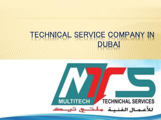 Technical Service Company in Dubai
