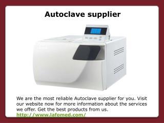 Autoclave supplier