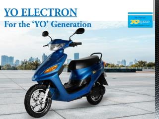 YO ELECTRON – eBike for the YO generation