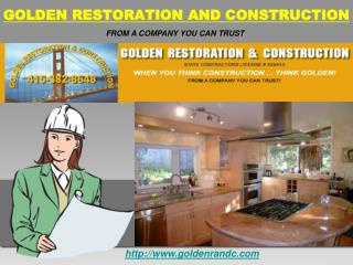 Golden Construction and Restoration Marin County