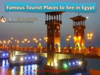 Famous Tourist Places to See in Egypt