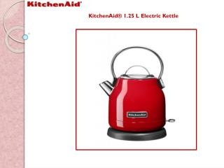KitchenAid 1.25 L Electric Kettle