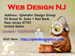 Web Design New Jersey - Splendor Design Group