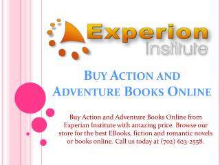 Buy Action and Adventure Books Online