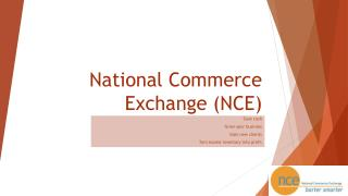 National Commerce Exchange