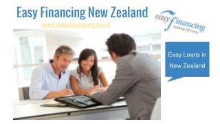 Easy Finance Loans in New Zealand