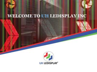 Indoor LED Display | Curved LED Display | UH LEDISPLAY
