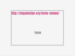 http://mtgsalvation.org/tvolve-reviews/