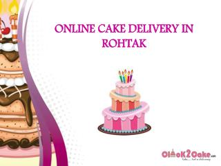 Online Cake Delivery In Rohtak