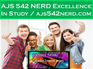 AJS 542 NERD Excellence In Study / ajs542nerd.com