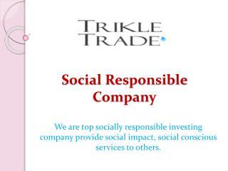 Social Responsible Company