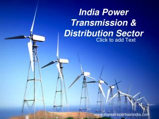 India Power Transmission & Distribution Sector