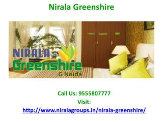 Nirala Greenshire residential apartment at Noida Extension