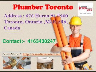 Plumbing Toronto - Canadian   Rooter