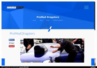 ProMod Dragsters | Cocklins Digital