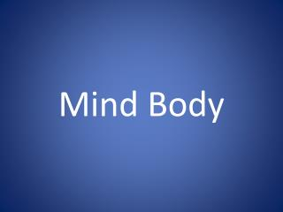 How To Have A Healthy Body, Mind,& Spirit