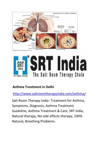 Asthma treatment in Delhi - saltroomtherapyindia.com