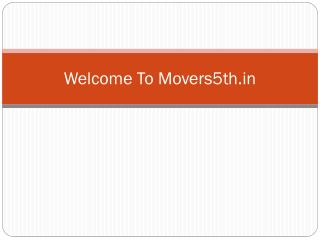Packers and Movers in Gurgaon Provide best Services Packing and Moving