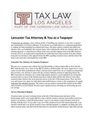 Lancaster_Tax_Attorney___You_as_a_Taxpayer(1).pdf