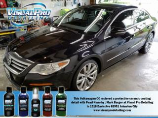 Auto detailing services in Johnston City Visual Pro Detailing.