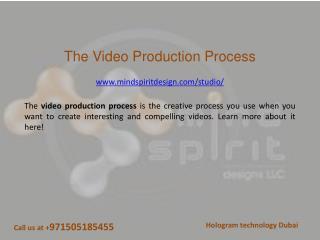 The video production process - Mind Spirit Design LLC