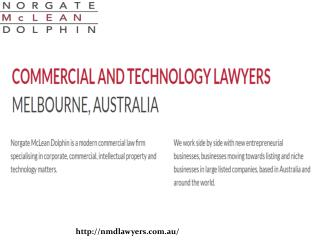 Technology Lawyers Melbourne