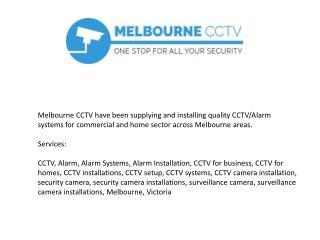 Melbourne CCTV Installation
