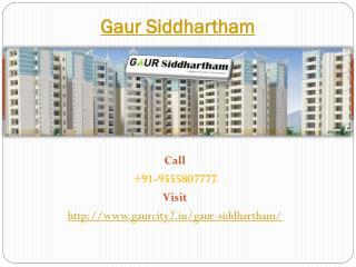 Gaur Siddhartham Best Residential Society