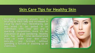 Tips For Glowing Skin, Tips For Healthy Skin - Everyuth