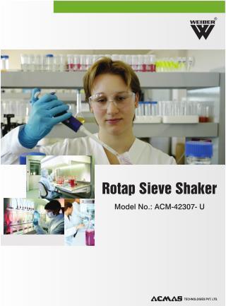 ROTAP SIEVE SHAKER