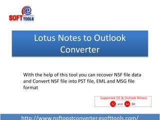 Lotus Notes Email Export