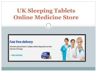 Sleeping Tablets By Trusted Pharmaceuticals-Buy from here
