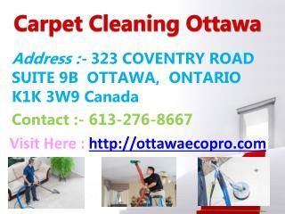 Eco-Pro - Carpet Cleaning Ottawa