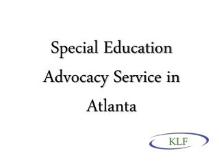 Special Education Advocacy Service in Atlanta