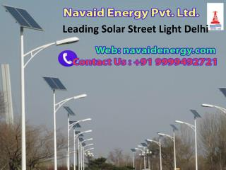 Leading Solar Street Light Delhi Call 9999492721
