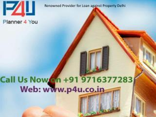 Loan Against Property Delhi| Planner For You