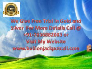 Best MCX Gold HNI Tips