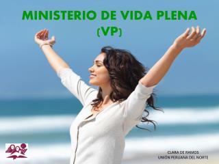 MINISTERIO DE VIDA PLENA VP