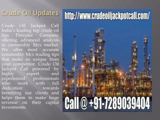 Crude Oil Updates