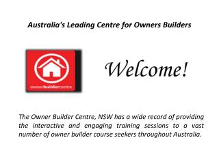 QLD Owner Builders Permit is a Key to Construct A Strong-built Home